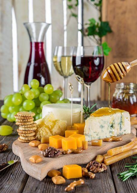 Vins rouges contre vins blancs