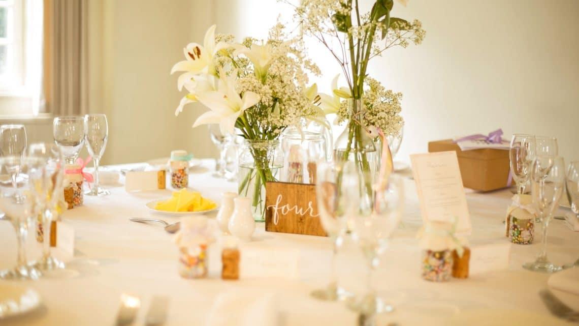 Conseils pour bien choisir les nappes de table pour la réception du mariage